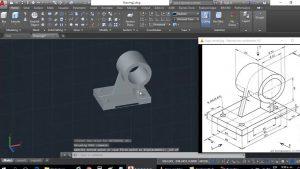Dibujar 3D En Autocad Fácil Paso a Paso
