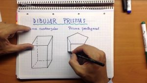 Cómo Dibujar 5 Prismas Fácil Paso a Paso