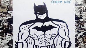 Dibujar A Batman Fácil Paso a Paso