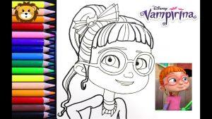 Dibujar A Bridget De Vampirina Fácil Paso a Paso