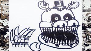 Dibujar A Freddy Nightmare De Fnaf Fácil Paso a Paso