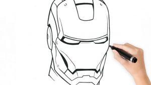 Dibujar A Iron Man Paso a Paso Fácil
