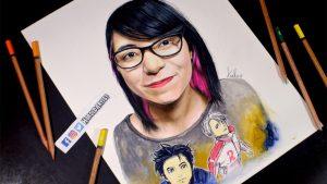 Cómo Dibuja A La Youtuber Diana Diaz Paso a Paso Fácil