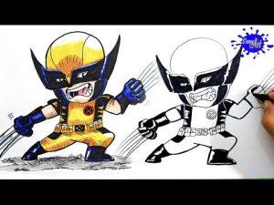 Cómo Dibujar A Los X-Men Paso a Paso Fácil