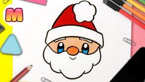 Cómo Dibuja A Santa Claus Paso a Paso Fácil