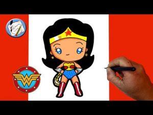 Dibuja A Wonder Woman Paso a Paso Fácil