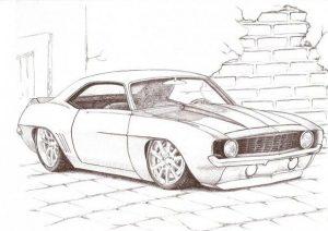 Dibujar Autos Tuning Paso a Paso Fácil