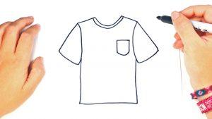 Cómo Dibujar Camisetas Paso a Paso Fácil