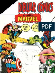 Dibujar Comics Al Estilo Marvel Fácil Paso a Paso