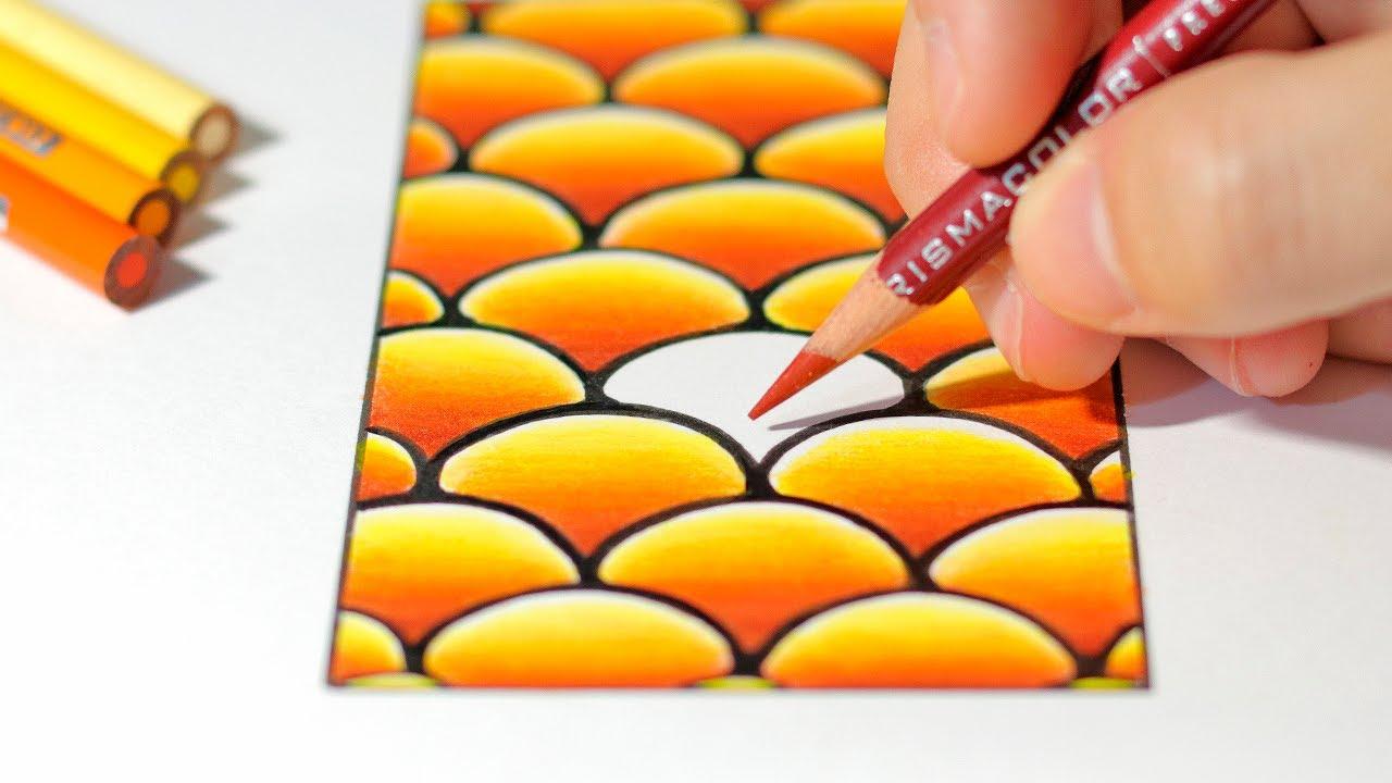Cómo Dibuja Con Degradados Perfectos Fácil Paso a Paso