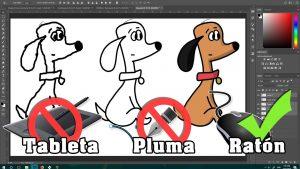 Dibuja Con Photoshop Paso a Paso Fácil