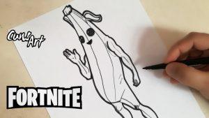 Dibujar Cosas De Fortnite Paso a Paso Fácil