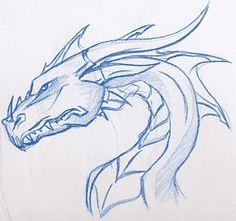 Cómo Dibujar Dragones Fácil Paso a Paso