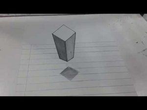 Cómo Dibuja En 3D A Lápiz Para Principiantes Fácil Paso a Paso