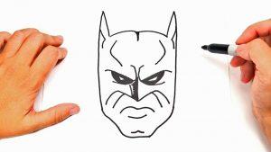 Cómo Dibujar La Cara De Batman Fácil Paso a Paso