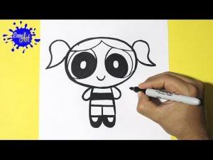 Dibuja Las Chicas Superpoderosas Paso a Paso Fácil