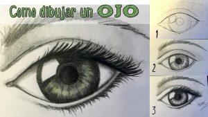 Cómo Dibujar Ojos Realistas Paso a Paso Fácil