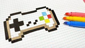 Cómo Dibuja Pixel Art Paso a Paso Fácil