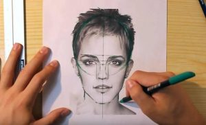Cómo Dibuja Retratos Fácil Paso a Paso