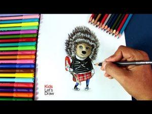 Cómo Dibujar Sing Fácil Paso a Paso