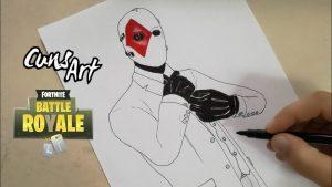 Cómo Dibujar Skins De Fortnite Paso a Paso Fácil