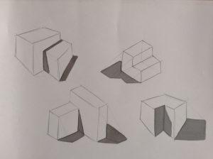 Cómo Dibuja Sombras Proyectadas Paso a Paso Fácil