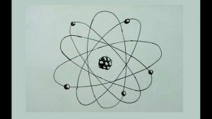 Cómo Dibuja Un Atomo Fácil Paso a Paso