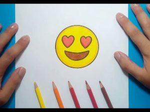 Cómo Dibujar Un Emoji Paso a Paso Fácil