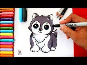 Cómo Dibujar Un Perrito Estilo Cute Paso a Paso Fácil