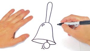 Cómo Dibujar Una Campana Fácil Paso a Paso