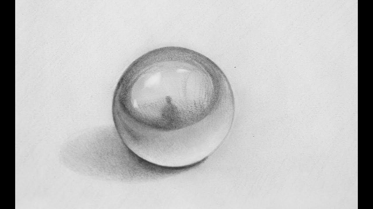Cómo Dibuja Una Esfera En 3D Fácil Paso a Paso