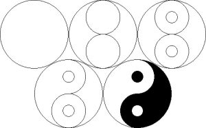 Cómo Dibujar Yin Yang Fácil Paso a Paso