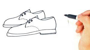 Dibuja Zapatos Paso a Paso Fácil