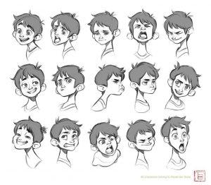 Cómo Dibujar 4 Personas Fácil Paso a Paso