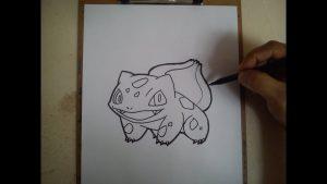 Dibujar A Bulbasaur De Pokémon Go Paso a Paso Fácil