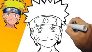 Cómo Dibuja A Naruto Fácil Paso a Paso