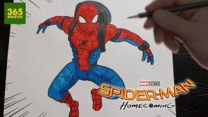 Cómo Dibujar A Spiderman Fácil Paso a Paso