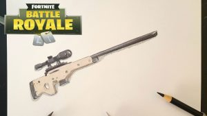 Cómo Dibujar Armas De Fortnite Fácil Paso a Paso