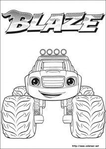 Dibuja Blaze Monster Machines Fácil Paso a Paso
