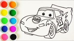 Cómo Dibujar Cars Fácil Paso a Paso