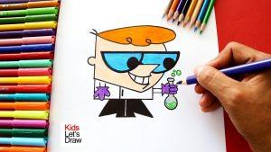 Cómo Dibuja El Laboratorio De Dexter Paso a Paso Fácil
