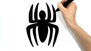 Cómo Dibujar El Logo De Spiderman Fácil Paso a Paso