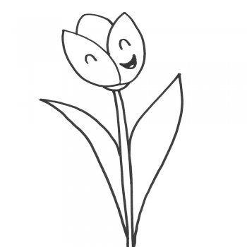 Dibuja Flores Sencillas Paso a Paso Fácil
