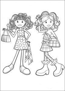 Cómo Dibuja Groovy Girls Paso a Paso Fácil