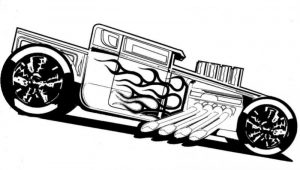 Cómo Dibuja Hot Wheels Paso a Paso Fácil
