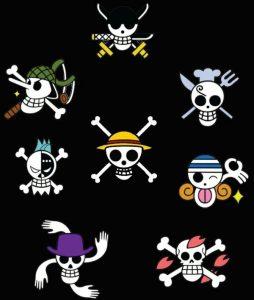 Dibuja La Calavera Mugiwara De One Piece Paso a Paso Fácil