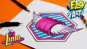 Dibuja Las Ruedas De Los Patines De Soy Luna Paso a Paso Fácil