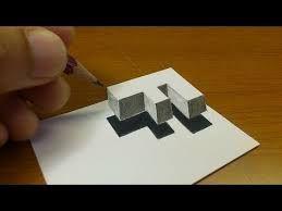 Cómo Dibuja Letras En 3D A Lápiz Fácil Paso a Paso