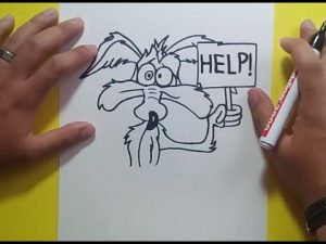 Dibuja Looney Tunes Paso a Paso Fácil