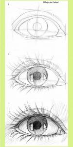 Cómo Dibujar Ojos Paso a Paso Fácil